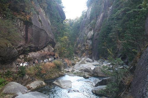Un paseo por el desfiladero Shosenkyo
