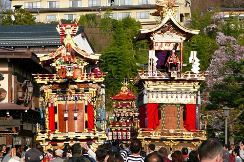 Takayama, presente del Japón feudal