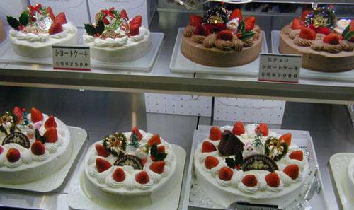 tartas navidad japonesas