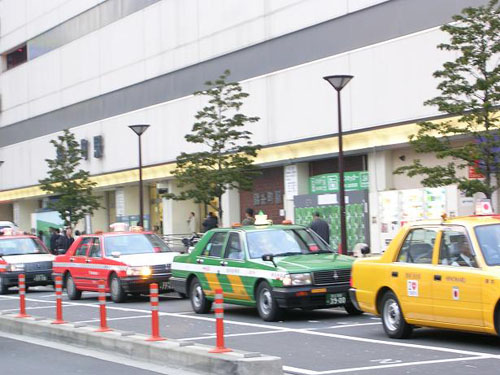 taxis-japoneses