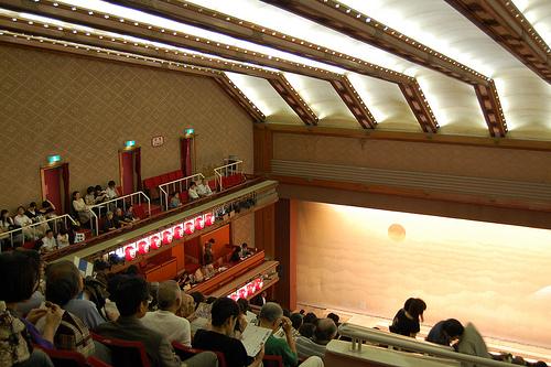 teatro kabuki-za interior
