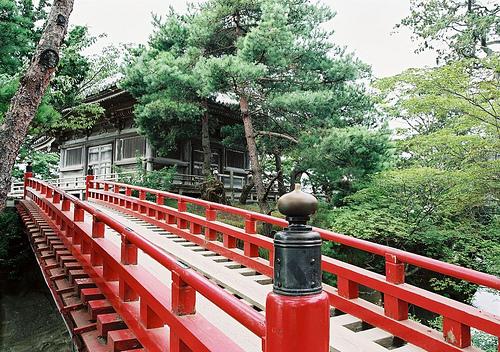 El pequeño Templo Godaido