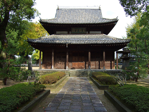 Templo Shofukuji, el primer templo zen de Japon