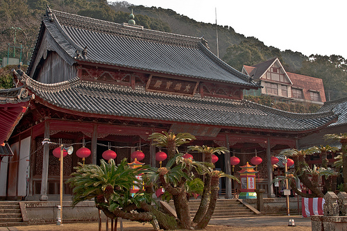 El Templo Kofukuji, un templo chino en Nagasaki