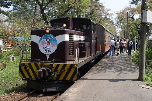 El Tren Tsugaru, con aire nostálgico
