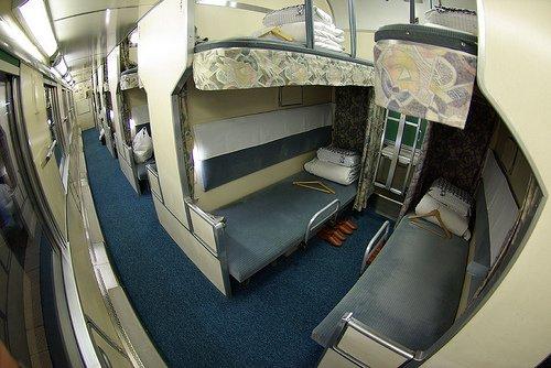 Trenes nocturnos en Japon