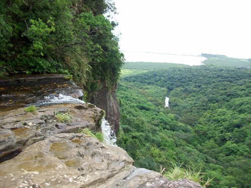 Vista desde las Cascadas Pinasaira